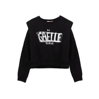 Sweatshirt With Shoulder...