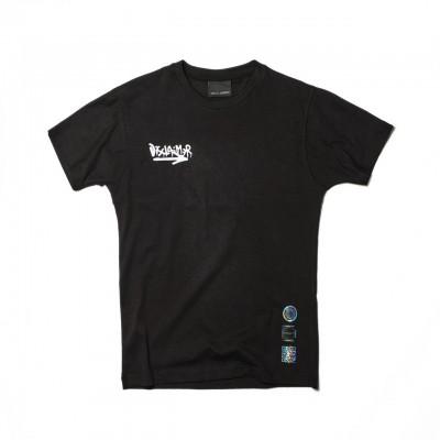Back Graphic T-Shirt, Nero