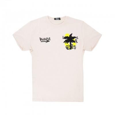 Palm T-Shirt, Beige