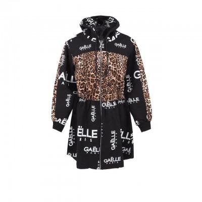Leopard Print Sweatshirt...