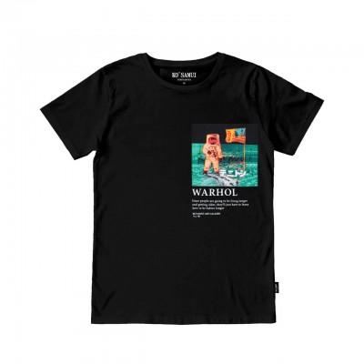 Spaceman T-Shirt, Black