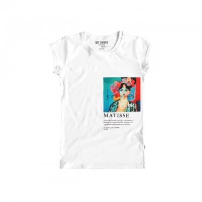 Obres Art T-Shirt, Bianco