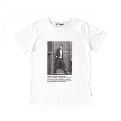 Black & White T-Shirt, White