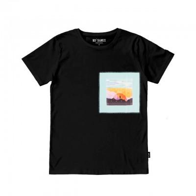 Bandana T-Shirt, Nero