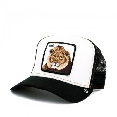 Mane Man Baseball Hat, Black