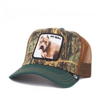 Pitbull Baseball Hat, Green