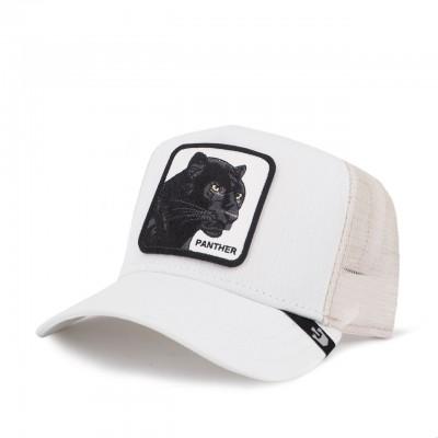 Panther Baseball Hat, White