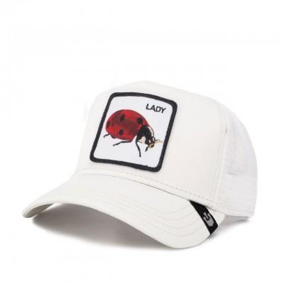 Spot Baseball Hat, White