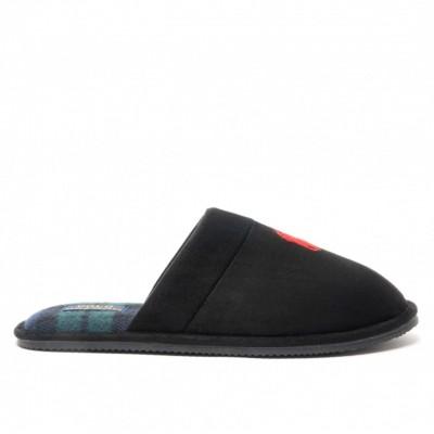 Pantofole Klarence, Nero