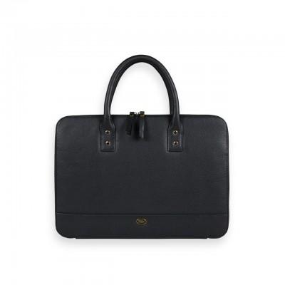 Leather Notebook Holder, Black