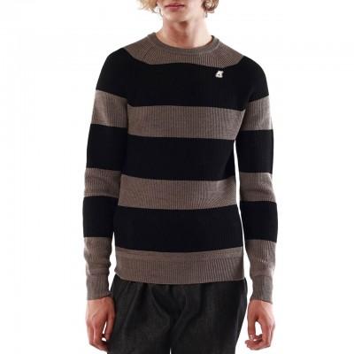 Lacelot Stripes, Black
