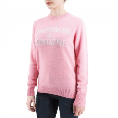 Crewneck Sweater, Rosa