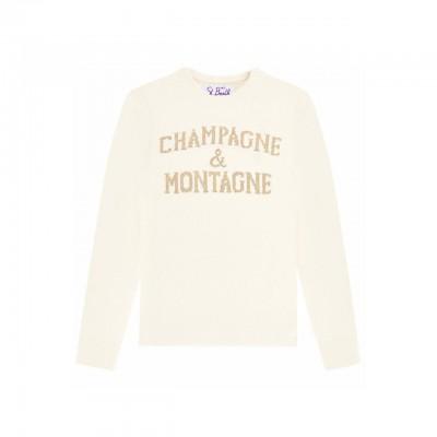 Crewneck Sweater, Bianco