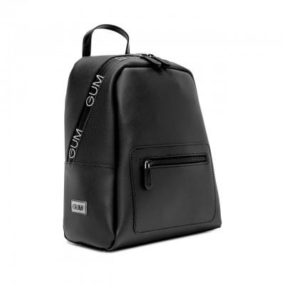 Fluo Mat Backpack, Black-White