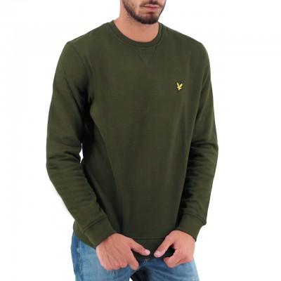 Crew Neck Sweatshirt, Verde