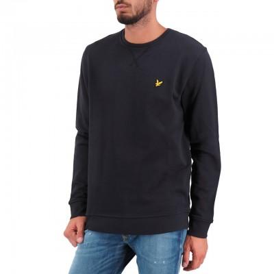 Crew Neck Sweatshirt, Nero