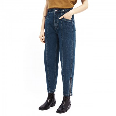 Jeans Con Gamba A...