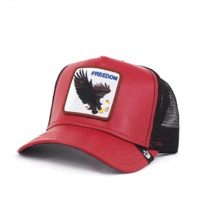 Big Bird Baseball Hat, Red