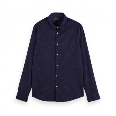 Organic cotton shirt with...