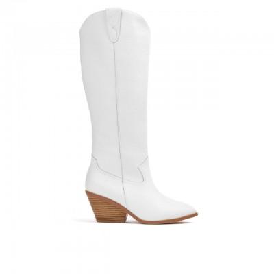 Houston Boots, White
