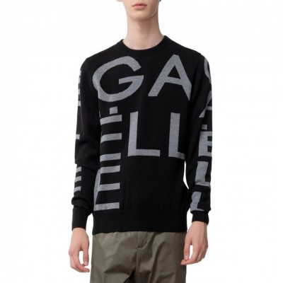 Crewneck Pullover With...