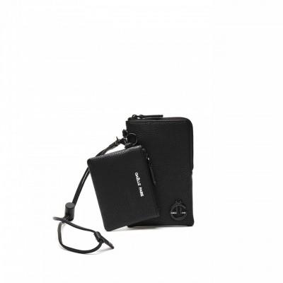 Mini Clutch Bag, Black