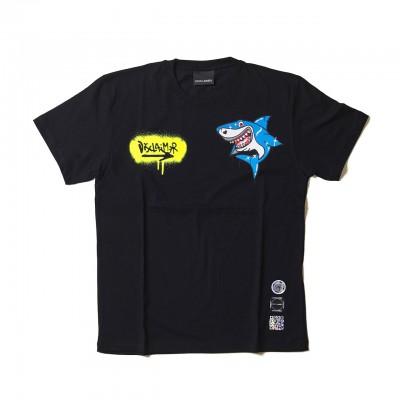 Shark T-Shirt, Black