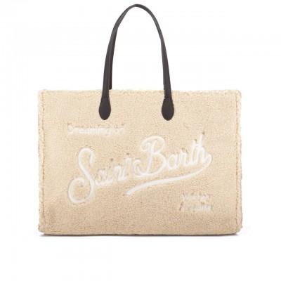 Vivian Sherpa Fabric Bag,...