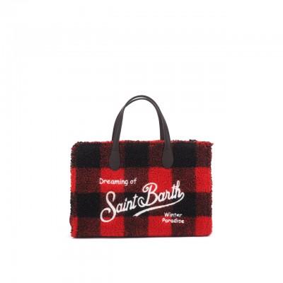Sherpa Fabric Bag, Red