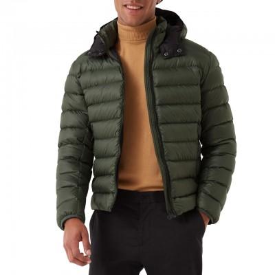 Semi-glossy Down Jacket...