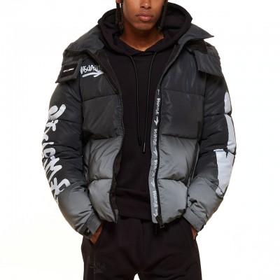 Reflective Jacket, Nero