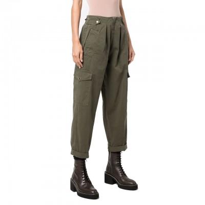 Pantalone Cargo, Verde