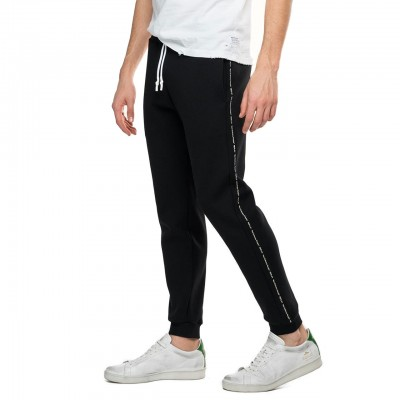 Fleece Trousers With Side...