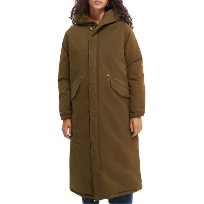 Reversible Parka With Hood,...