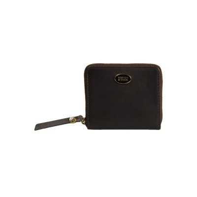Wallet With Zip In Leather,...
