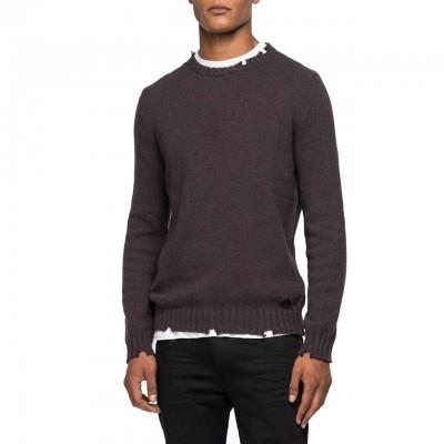Crewneck Sweater, Brown