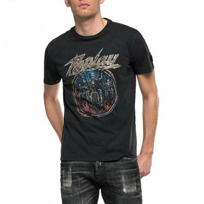 T-Shirt Girocollo Con...