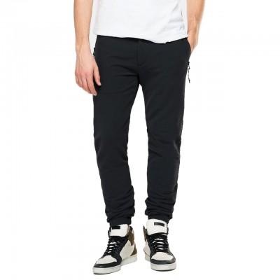 Fleece Trousers, Black