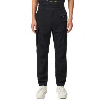 P-Cor-Wv Pants, Black
